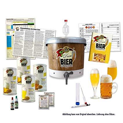 Le kit de brassage de la bière, un outil comportant un ensemble d'éléments pour assurer la production de votre bière