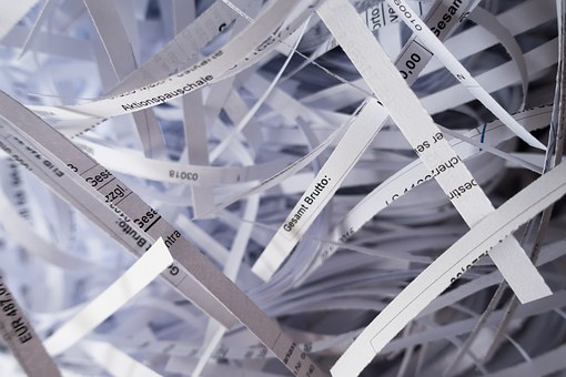 Pourquoi utiliser un destructeur de documents?