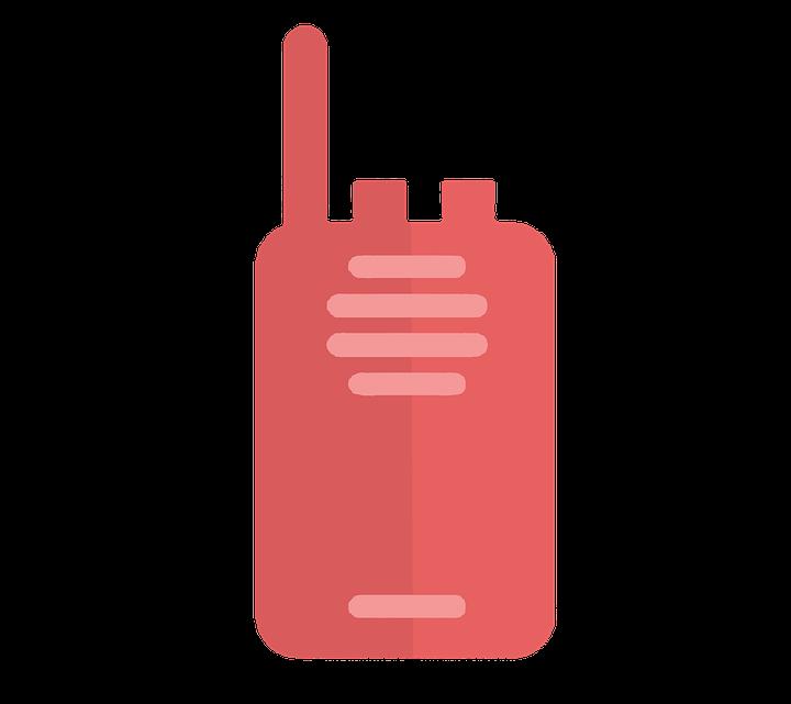 Les enfants et les accessoires de jeu : Le talkie-walkie